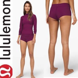 Lululemon Bump Set Swim Mid-Rise Short Marvel 10